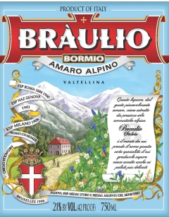 Braulio75cl_USA Front